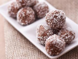 Σοκολατάκια με Καρύδα