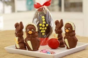 Σοκολατένια Ζωάκια